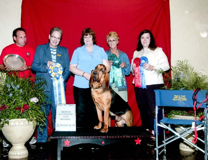 High in Trial! (HIT) - American Bloodhound Club National Specialty - 2010