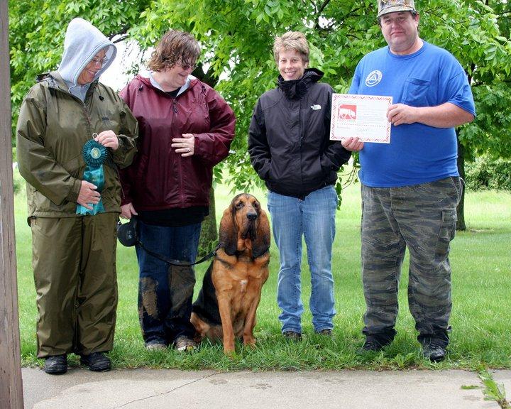 New MT! Prarielands Bloodhound Club Trailing Trials - May 2011